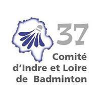 logo du comité 37 de badminton